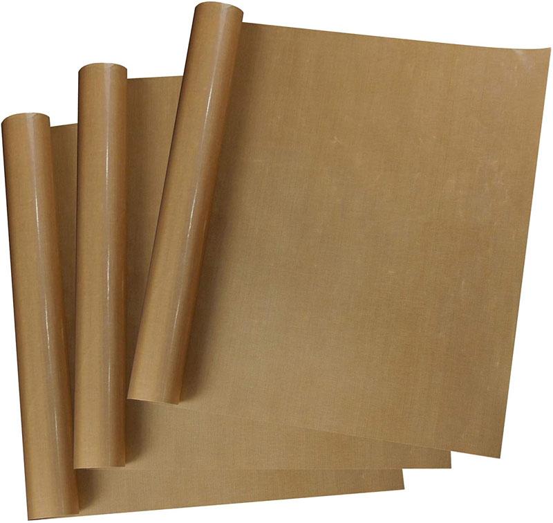 MECOLOUR 3 Pack PTFE Teflon Sheet Reusable Heat Resistant Craft Mat