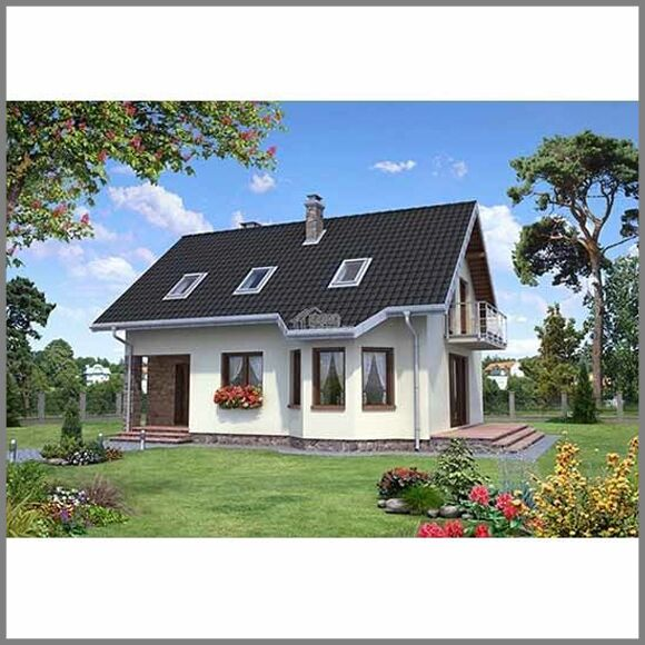 New Metal Frame House Kits 2storey Economy Designed