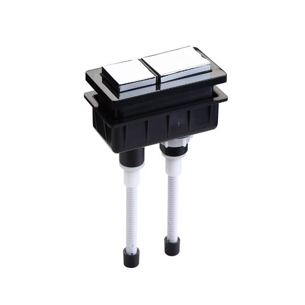 A46-06 Rectangle Dual Push Button