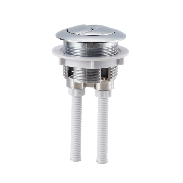 Chrome-plated ABS 38mm 38mm Dual Push Button