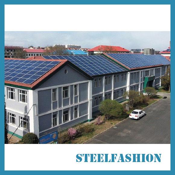 economical solar steel frame buildings Africa-sfcontainerhouse.com