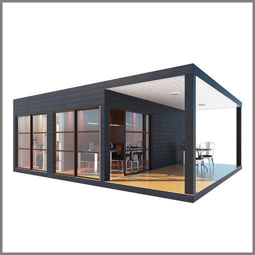 light steel frame UPS UPS light steel frame modular container house-sfcontainerhouse.com