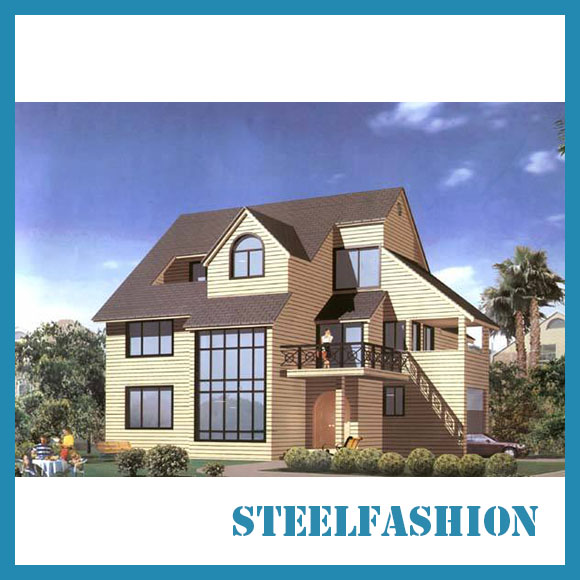 large light steel structure European modular prefabricated home-sfcontainerhouse.com