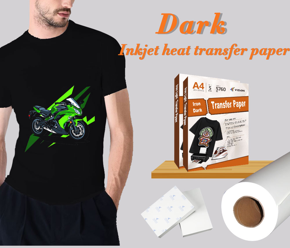 Heat transfer paper for clothes