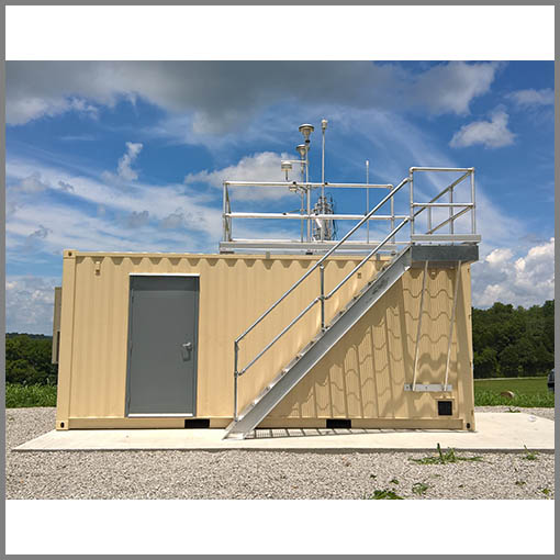 Explosion Proof Container House H2S Protection Shelter