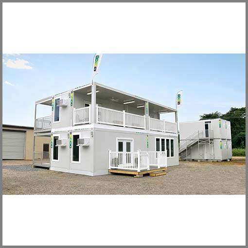 20ft Flat Pack Prefab Container Homes Container Office Australia Malaysia Philippines