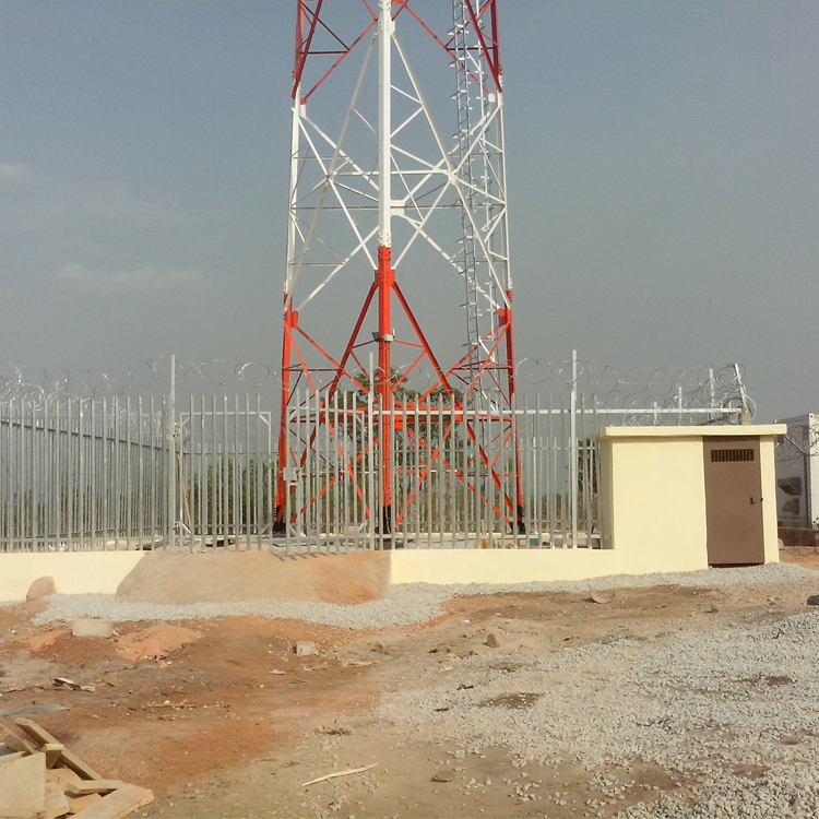 3 Leg Self Supported 60m Angular Tower
