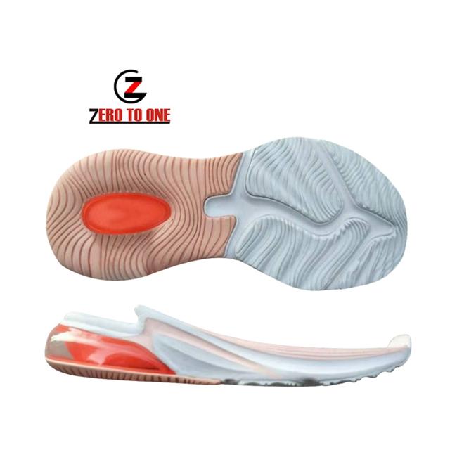 2020 New Shoe Outsole Sports Running Air Cushion Elastic Soft EVA Rubber Shoe Sole