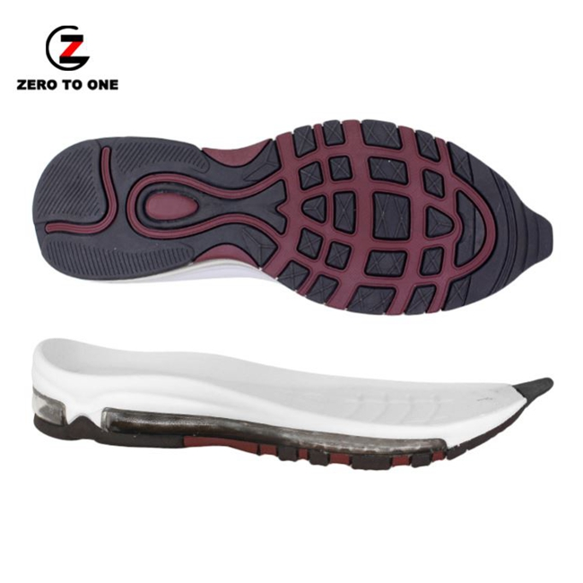 Best Price Professional Running Anti-slip Rubber Tpu Air Outsole Sport Shoes Soles