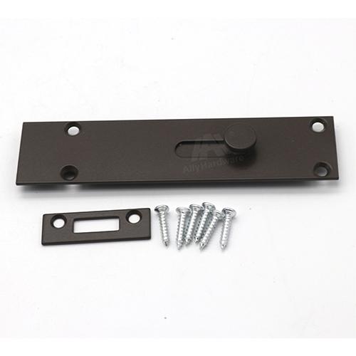 Aluminum profile door security bolt