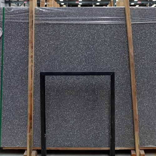 Black Agglomerate Stone Tile
