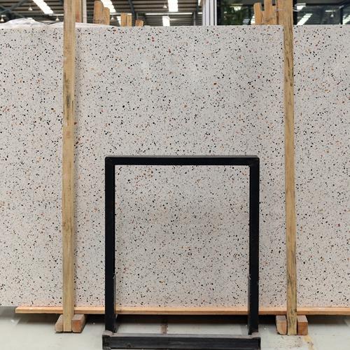 Beige Terrazzo Floor Tiles