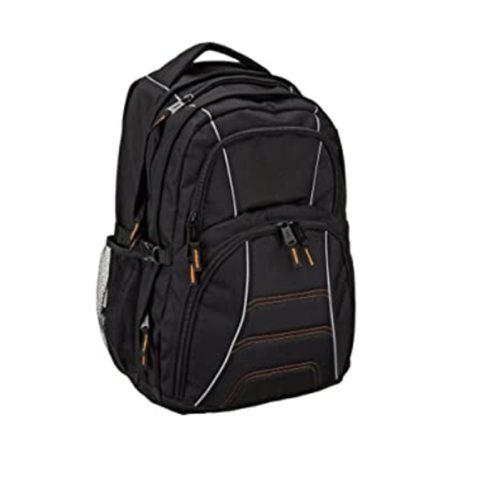 Large Multi Compartment Backpack With A Padded Sleeve For Laptops