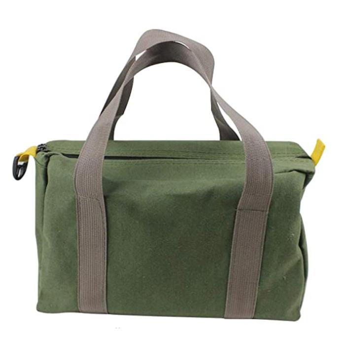 high capacity large zipper high capacity canvas handbag-bestyord.com