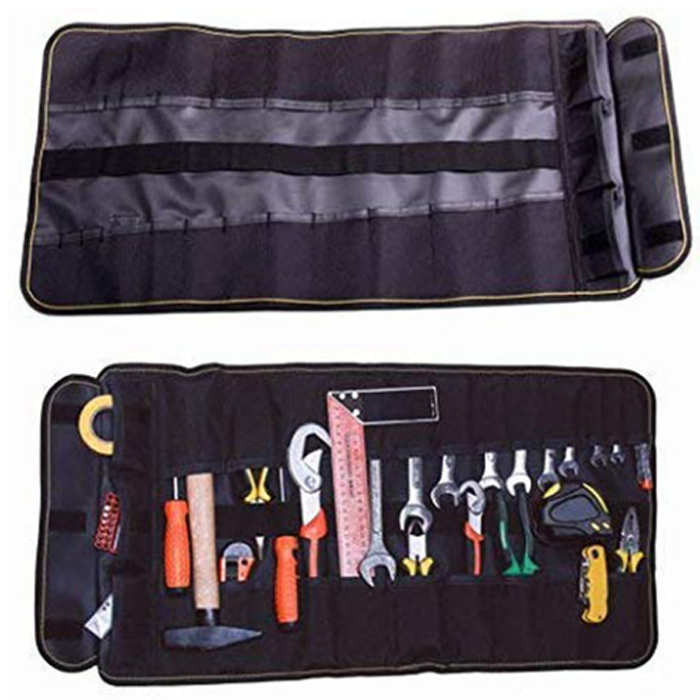water resistant roll tool pouch