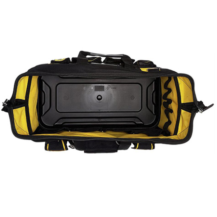 double zipper portable tool bag