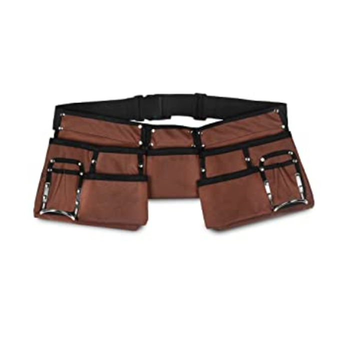 Tool Pouch With Poly Web Belt And Quick Release Buckle