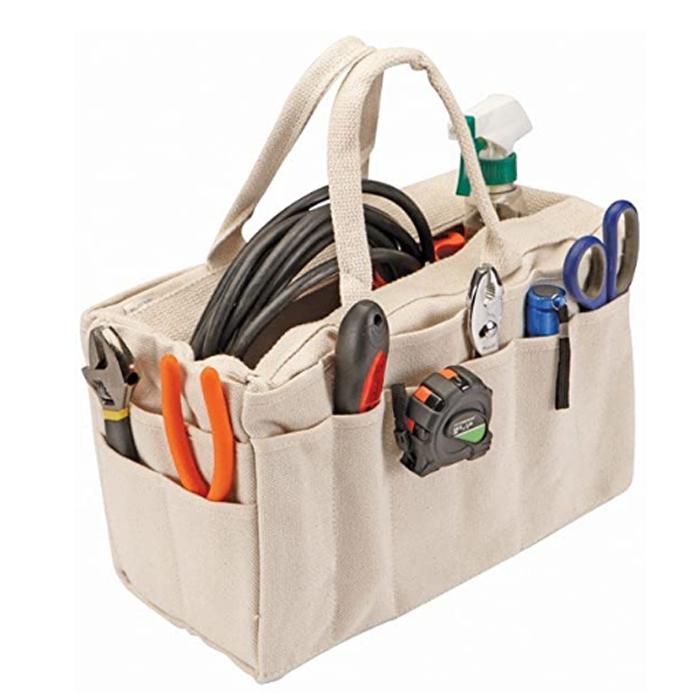 tools grey grey tools canvas riggers bag