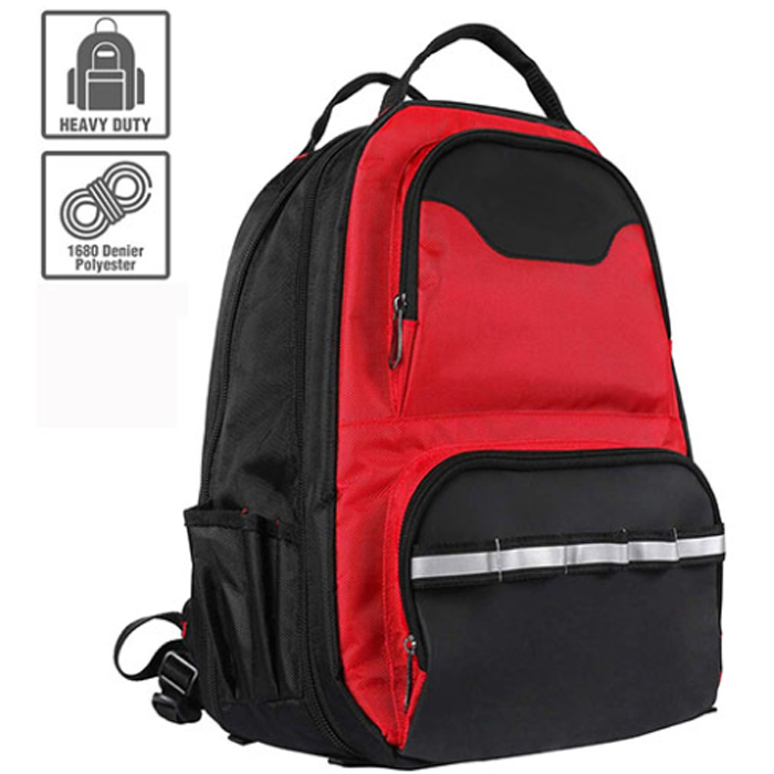 Tool Backpack With Padded Laptop Sleeve