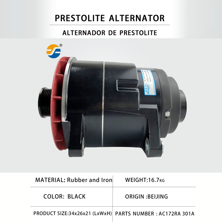 24V 140A Prestolite Generator  AC172TRA  Alternator for different Types of bus and truck