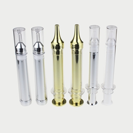 Empty 10ml 15ml Double Layer Eye Syringe Bottle in Airless Design