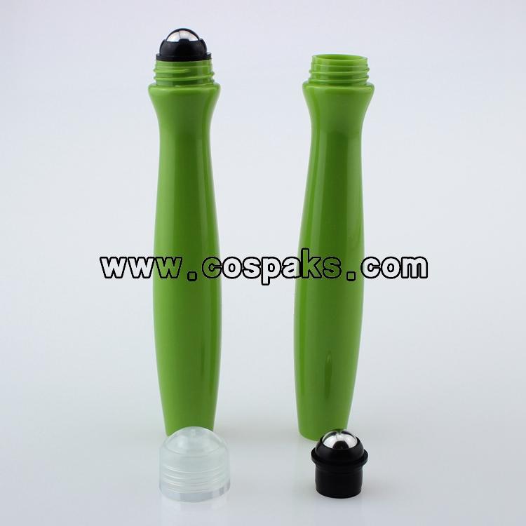 Plastic Roll On Bottles 15ml Green