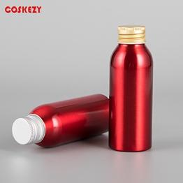 100ml Red Aluminium Essential Oil Bottle Packaging