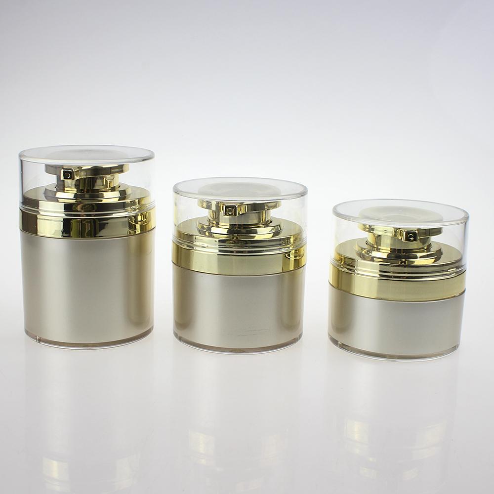 Empty 30ml 50ml 70ml Airless Dispenser Pump Cream Container