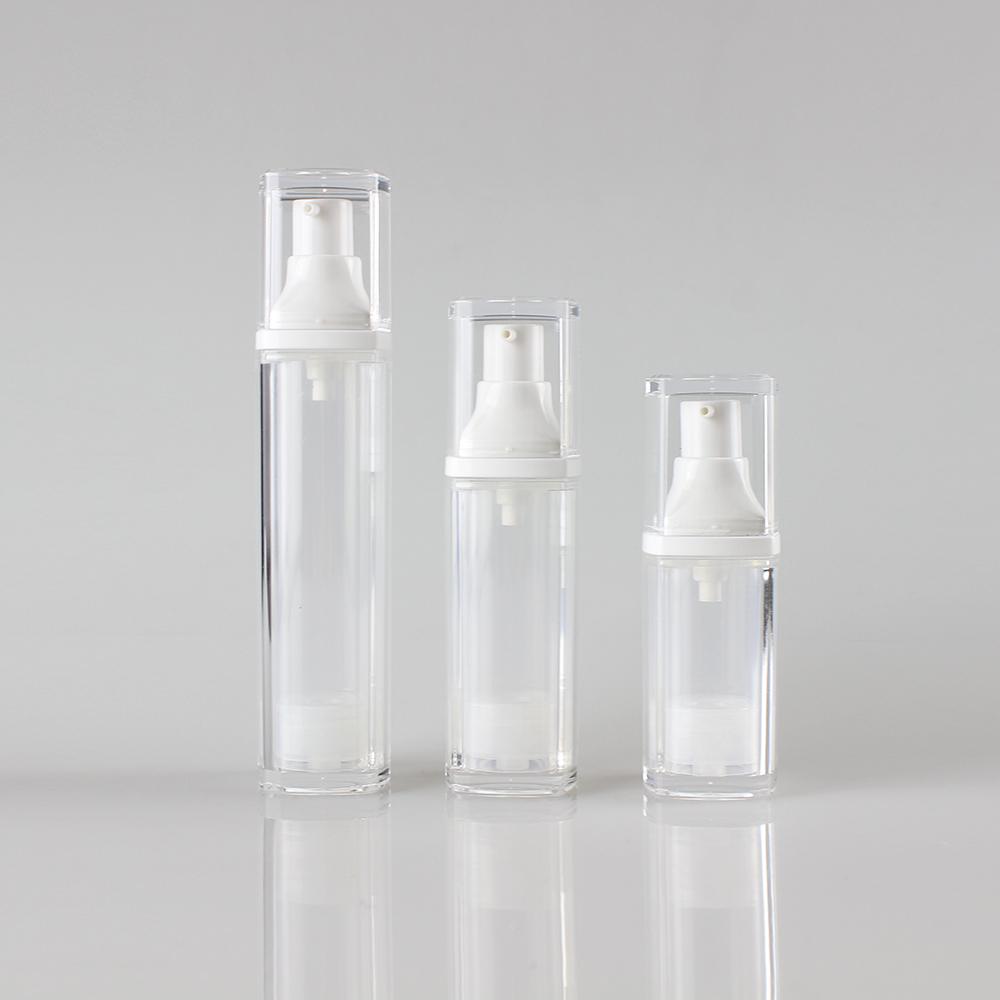 Wholesale Square Shape Airless Dispenser Pump Bottle Packaging