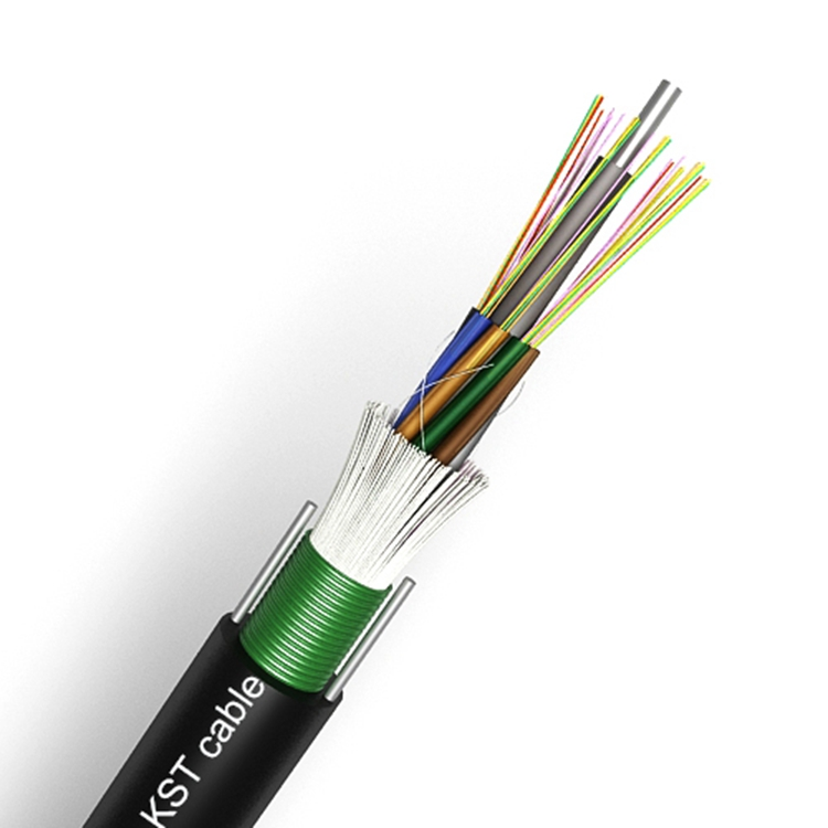 Hot Sales Fiber Optic Cable Steel Tape Armored Loose Tube Outdoor Cable( GYTSW ),Communication Cable With E-Glass Yarn