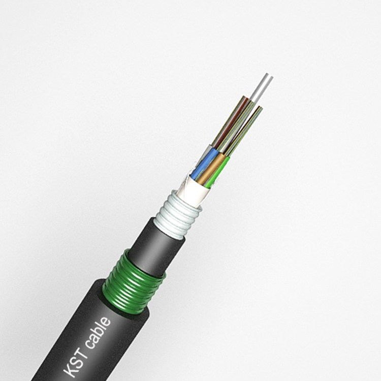 Fiber Optical Cable Double Sheath And Double Armored Loose Tube Cable ( GYTYA53/GYFTA53 ),Communication Cable G652D