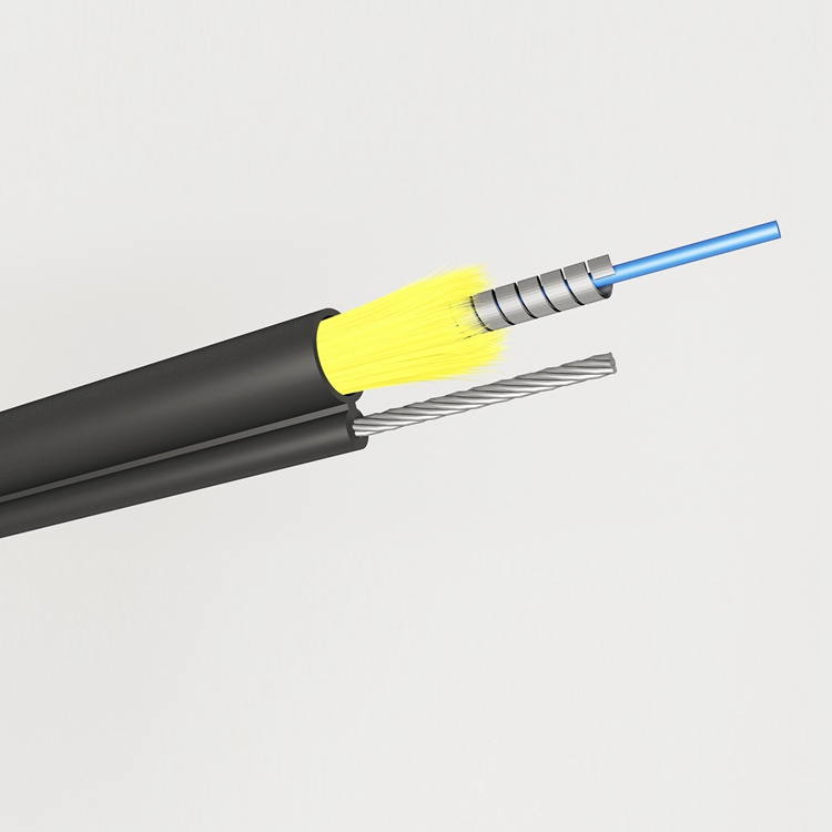Figure 8 Self-supporting  Ftth Drop Cable Round Type