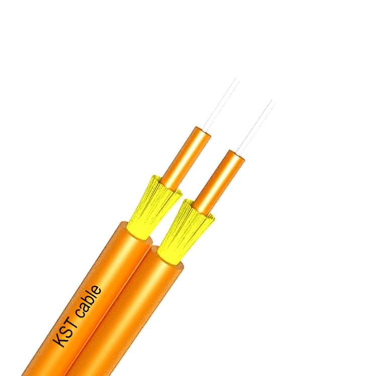 Indoor Duplex Fiber Optic Cable 2.0mm 3.0mm Cable LSZH/PVC