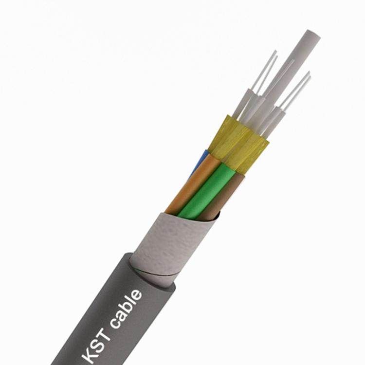 Indoor 1-48 CORE Tight Buffer OM1 OM2 OM3 BOC Multi-Purpose Breakout MM Fiber Optical Cable