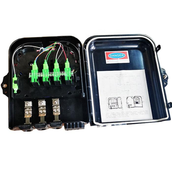 Terminal Box Caixa do CTO do Divisor do / FTTX 1x8 Distribution Box / Caja