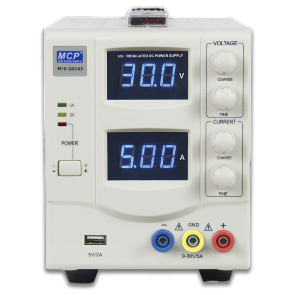 M10-QS SERIES SINGLE OUTPUT CONSTANT VOLTAGE CONSTANT CURRENT ADJUSTABLE DC POWER SUPPLY WITH USB OUTPUT