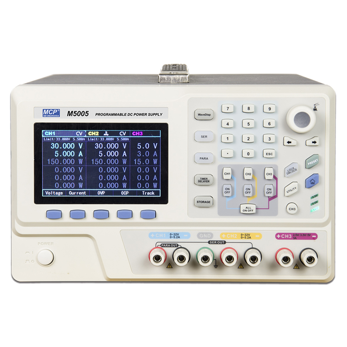 M5000 SERIES PROGRAMMBLE POWER SUPPLY WITH PC CONTROL INTERFACE