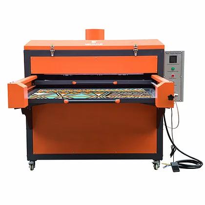 Semi Automatic Pneumatic Double Station Heat Press Machine 80cmx100cm