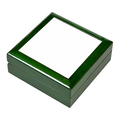 4.25inchx4.25inch Wooden Jewelry Box For Sublimation