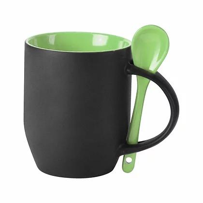 12oz Magic Mug With Internal Color And Spoon