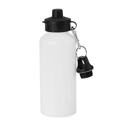 600ml Aluminium Water Squeeze Sport Bottle For Sublimation Retractable Nozzle