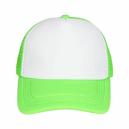 Custom Multi Color Design Logo Mesh Trucker Cap