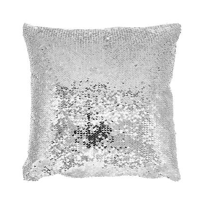 Sublimation Sequin Magic Pillow Case Silver