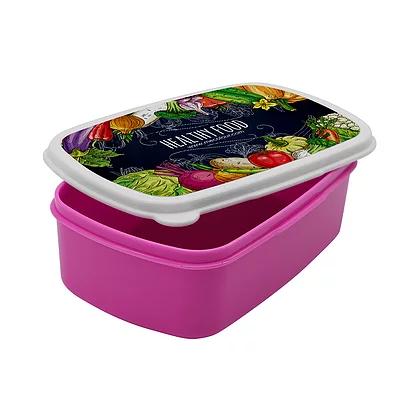 Pink Plastic Pot For Sublimation