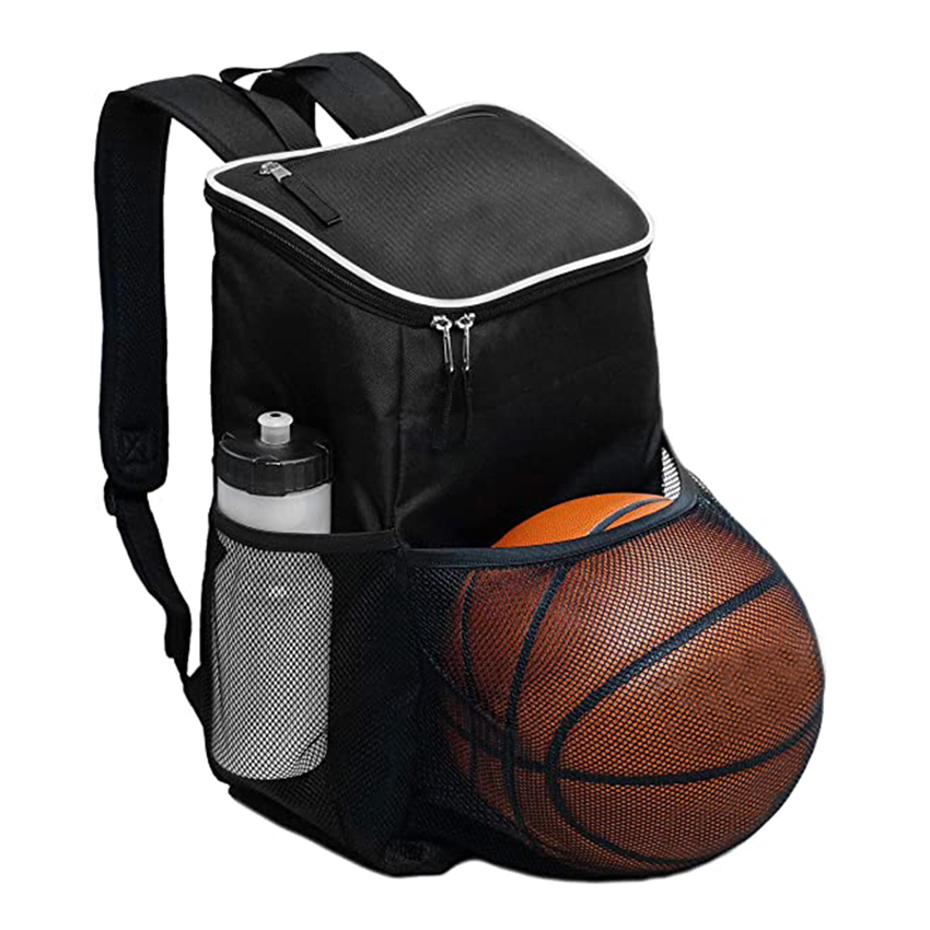 Gym Bag Backpack - Ball Equipment Pocket Sports Workout Travel Gear Bag