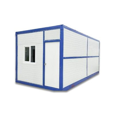 Two Bedroom Folding Extensible Prefab 40 Foot Container House
