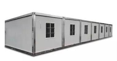Application and development of prefabricated modular and detachable container house