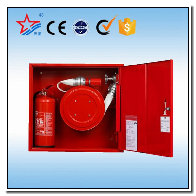 Fire Fighting Hose Reel And Fire Extinguisher Cabinet