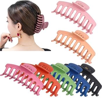 Large Grip Shark Clip Horsetail Grip Bath Hair Clamp Hair Clip Claw