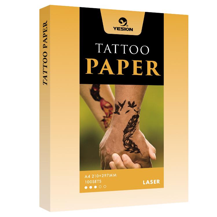 Tattoo Transfer Paper Printable DIY Tattoo Waterslide Paper